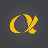 Векторный клипарт: Альфа письмо логотип