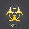 Векторный клипарт: Токсичные знак, значок Bio Hazard
