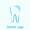 Векторный клипарт: Стоматологическая шаблон логотип