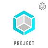 Векторный клипарт: Изометрические строительство куб