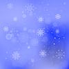 Векторный клипарт: Хлопья снега фон