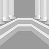 Векторный клипарт: Греческие столбы