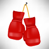 Red Boxhandschuhen