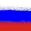 Flagge von Russland. Grunge Hintergrund Russian