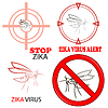Vektor Cliparts: Sign Zika Virus
