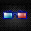 Векторный клипарт: Очки для просмотра фильмов