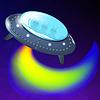 Векторный клипарт: Spaceship является Fluing