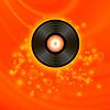 Векторный клипарт: Ретро виниловый диск