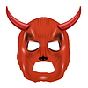 Vektor Cliparts: Red Horn Mask