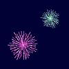 Векторный клипарт: Фейерверки Зажгите небо