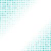 Векторный клипарт: Пунктирная Azure фона. Полутона Pattern