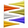 Векторный клипарт: Набор красочных Рожками
