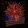 Векторный клипарт: Independense День Америки