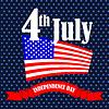 Векторный клипарт: День независимости Америки