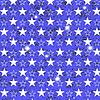 Векторный клипарт: Звездное Grunge синий фон
