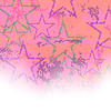 Векторный клипарт: Звездное фон Grunge