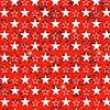 Векторный клипарт: Звездное Grunge красный фон