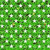 Векторный клипарт: Звездное Grunge зеленый фон