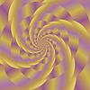 Векторный клипарт: Fractal Design. Цветные спираль фон