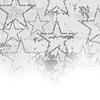 Векторный клипарт: Серый Звездное фон Grunge
