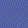 Векторный клипарт: Бесшовные текстуры на синем. Декоративные фоном