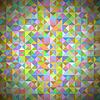 Векторный клипарт: Фон с геометрическими фигурами, треугольниками