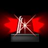 Векторный клипарт: Siren Icon. Красный Чрезвычайная вспышка. Автосигнализация Символ
