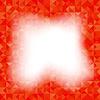 Векторный клипарт: Красный фон Геометрические треугольниками. Старый Мозаика