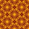 Векторный клипарт: Бесшовные текстуры на Orange. Декоративные фоном