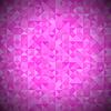 Векторный клипарт: Розовый фон с геометрическим Треугольники