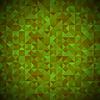 Векторный клипарт: Зеленый фон с геометрическими фигурами, треугольниками