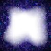 Векторный клипарт: Синий фон с геометрическими фигурами, треугольниками