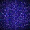 Векторный клипарт: Старый Мозаика. Blue-мозаичные Баннер