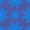 Векторный клипарт: Бесшовные текстуры на синем. Элемент дизайна