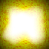 Векторный клипарт: Желтый Мозаика Баннер