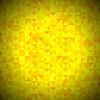 Векторный клипарт: Желтый фон с геометрическим Треугольники