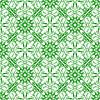 Векторный клипарт: Зеленый фон Бесшовные текстуры Декоративные