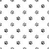 Vektor Cliparts: Nahtlose Katze Tiertatzen-Muster