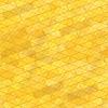 Векторный клипарт: Кирпичная стена желтый фон