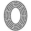 Векторный клипарт: Двоичный код фона. Числа Концепция