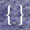 Векторный клипарт: Фигурная скобка Иконка