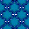 Векторный клипарт: Синий Бесшовные шаблон Многоугольная