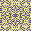 Векторный клипарт: Геометрическая Дэвид фон звезды
