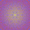 Векторный клипарт: Творческий Декоративные розовый узор