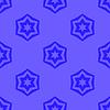 Векторный клипарт: Бесшовные синий Геометрическая Дэвид фон звезды