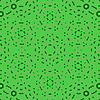 Векторный клипарт: Творческий Декоративные зеленый узор