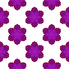 Векторный клипарт: Бесшовные Розовый Снежинка шаблон