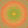Векторный клипарт: Творческий Декоративные цветной рисунок