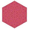Векторный клипарт: Декоративные розовый узор