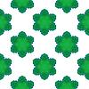 Векторный клипарт: Бесшовные зеленый шаблон Снежинка